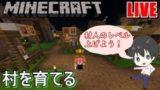 【マイクラBE(統合版)】1から村を育てるマインクラフト