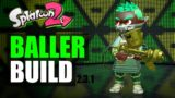 Baller Build with Aerospray RG - Splatoon 2 スプラトゥーン2