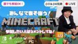 マインクラフト マイクラ Minecraft ライブ配信 中 参加型 LIVE 生放送 ジ・エンド エンドシティ End city!! (The End) 海底神殿 準備 小学生 兄弟 実況 統合版