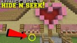Minecraft: HAMSTERS HIDE AND SEEK!! - Morph Hide And Seek - Modded Mini-Game